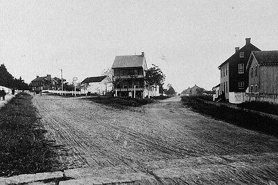 New 5x7 Civil War Photo: Baltimore Pike and Emmitsburg Road at Gettysburg, Pa.
