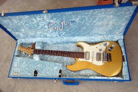 GJ2 Glendora Custom shop Relic by Grover Jackson - Rare - Hotrod Fender Stratocaster