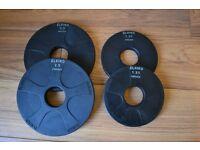 Eleiko Vulcano Olympic Disc/Plate (2 x 2.5kg & 2 x 1.25kg)