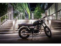 2015 Lexmoto Valiant 125cc Learner Legal Cafe Racer style Motorbike 125 XF R