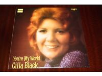 Cilla Black You're My World Vinyl LP Record