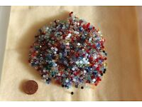 Over 1800 New Genuine 2mm Bicone Swarovski Crystal Beads - Mixed Colour