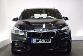 BMW 2 SERIES 2.0 220D M SPORT ACTIVE TOURER [NAV/LEATHER] 5d 18 (black) 2016