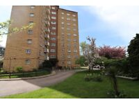 A bright and spacious 3 bedroom 1st floor flat in Orchard Mead House with Gym available immediately