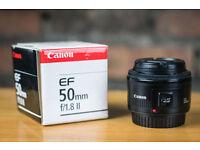 Canon EF 50mm f/1.8 Mk II