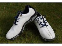 White Footjoy Golf Shoes size 5 for boy or girl