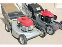 Broken, unloved or simply unwanted Petrol mowers bought for cash