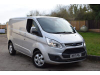 2017 FORD TRANSIT CUSTOM 290 LIMITED swb,low roof,