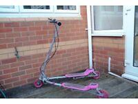 Zip Scooter Pink