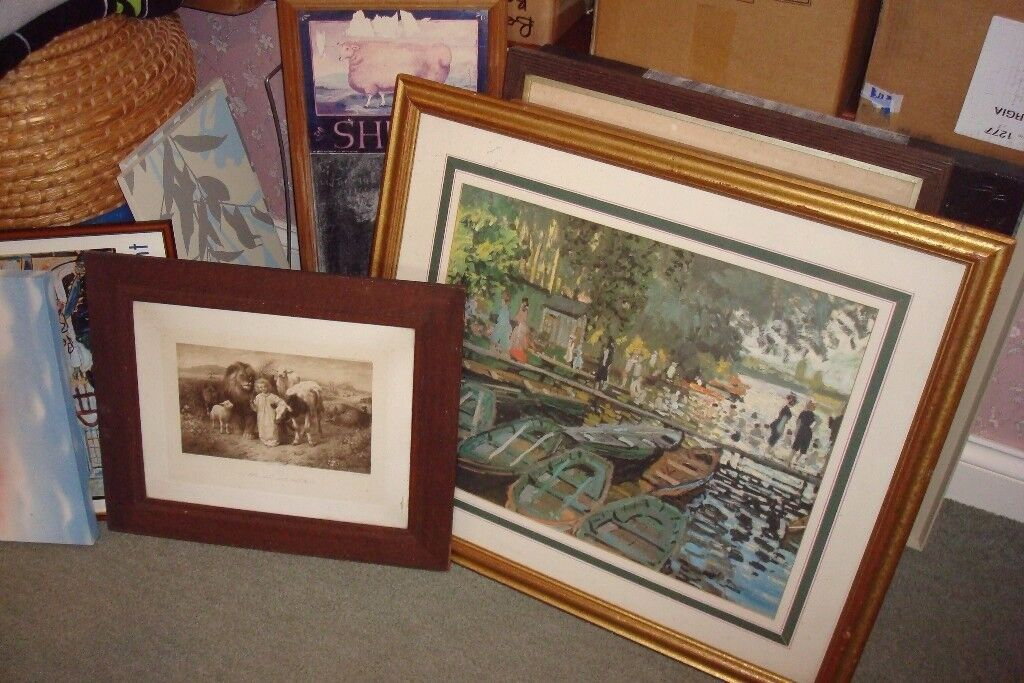 PAINTINGS PRINTS AND WATER COLOURS VARIOUS