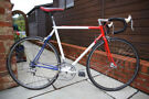 Custom Reynolds 531 steel racer - freshly rebuilt and serviced - 54cm
