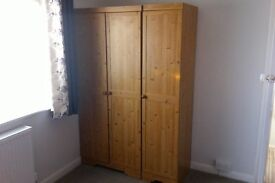 Bedroom Furniture £80 ONO - includes Double & Single Wardrobe and Chest of Drawers