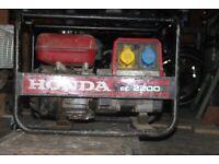 Honda 2.2kva generator.