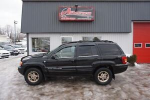 2001 Jeep Grand Cherokee Limited V8 TOIT/CUIR/MAGS AUTOMATIQUE A