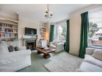 A spacious PART FURNISHED 1st & 2nd floor maisonette with roof terrace