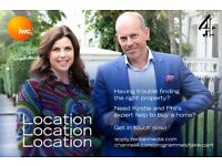 Looking to buy a property in Hertfordshire? Kirstie and Phil can help!