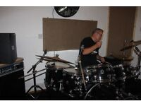 Quality drummer with sense of humour and top pro gear seeks covers band, 60's songs to present.