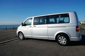 VW T5 Shuttle LWB 2007 130SE With Remap