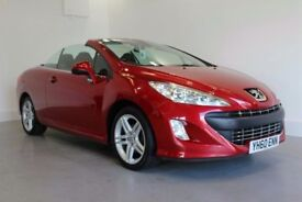 BEAUTIFUL PEUGEOT 207CC CONVERTIBLE FOR SALE WITH VERY LOW MILEAGE