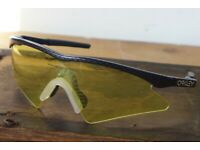 6e12208b48cb Vintage 1990s OAKLEY Sunglasses. M Frame. USA made. PLUS  spare interchangeable Lens