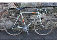 Peugeot road bike, frame 56 cm (suit male around 6 foot), 12 gears