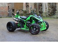 ★ NEW 2016 250CC GREEN ROAD LEGAL QUAD BIKE ASSEMBLED IN UK ★ FINANCE NOW AVAILABLE - IN STOCK!★