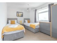 Convenient 2 bed at £65 per night for Contractor/Corporates