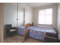 Spacious one double bedroom flat available now HA3. Next to Northwick Park and Kenton tube stations.