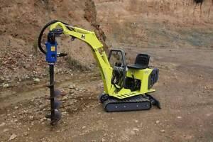Micro Excavator/Tipper Trailer DRY HIRE Burnie Burnie Area Preview