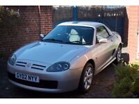 Rare Hard/Soft Top MG TF, Brand new MOT, Low Mileage, Excellent for the age.