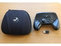 Wireless Steam Valve Controller with carrying case and USB wireless receiver