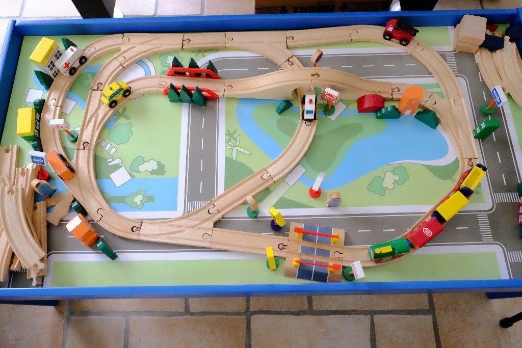 Chad Valley Train Activity Table ( Can also be used without the ...