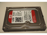 Western Digital (2x)1TB RED - 2 Hard drives