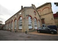 A very spacious (over 1500 ft sq) three double bedroom warehouse conversion in Canada Water.