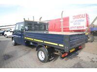 FORD TRANSIT 115 T-350L DOUBLE CAB TIPPER – 12-REG