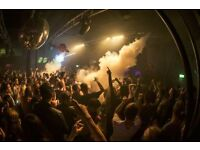 BAR BACKS/ BAR SUPPORT - PART TIME/ WEEKENDS - EGG LDN - NIGHTCLUB