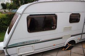Abbey Aventura 316 (2004) 5 berth caravan in good condition