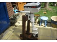 Johnson 4 HP twin outboard