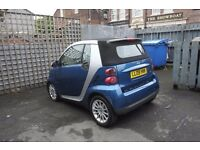 Smart ForTwo, Convertible, Blue, Excellent Condition, 62000 miles, £3750 ono