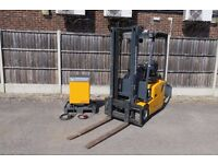 Jungheinrich EFG 110 GE120-330ZT 1 Ton Electric 3.3m Duplex ZT Mast Forklift Truck - VERY LOW HOURS