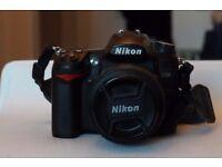 good condition nikon D7000 + AF-S nikkor 50mm 1:1.4G + AF-S nikkor 18-105mm 1:3.5-5.6G