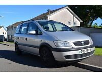 Vauxhall Zafira Comfort - 1.8 petrol - reliable 7 Seater workhorse!