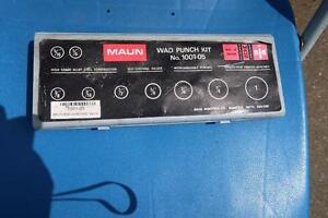 Maun Wad Punch Kit 1001-05