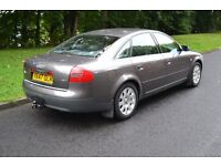 Audi A6 Saloon (Grey), Towbar, Good condition - QUICK SALE!