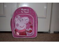 Peppa pig and Frozen rucksacks
