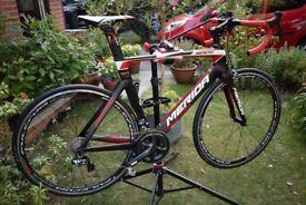 Merida Reacto 7000E Aero Bike. Full Shimano Ultegra Di2. New. Unused.