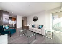 LUXURY MODERN DESIGNER 1 BED WITH DUAL ASPECT VIEWS - GLASSHOUSE GARDENS - STRATFROD - E20