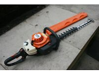 Petrol Stihl HS81 RC 24 inch double hedgetrimmer