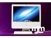 "2GHZ White 17"" Apple iMAC 2gb 160GB ABLETON LOGIC PRO ADOBE CS6 FINAL CUT PRO MICROSOFT OFFICE 2011"