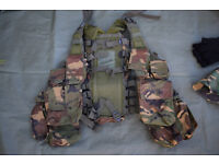 Used - DPM Assult / Tactical Vest, Made by VIPER (+Free Jungle Hat)